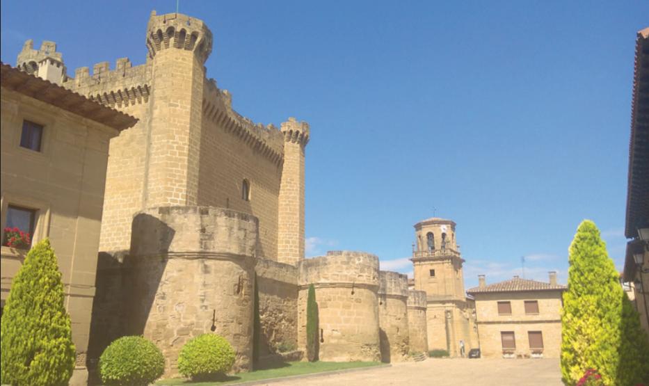 Castillo de Sajazarra, uno de los pueblos más bonitos de España